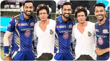 Krunal Pandya Wishes Shah Rukh Khan on His Birthday, Superstar Wants Pandya Brothers to Keep Hitting Tall Sixes