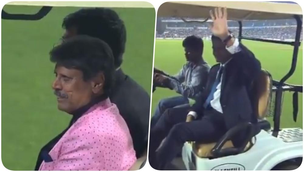 Sachin Tendulkar, Kapil Dev, Mithali Raj & Other Indian Cricketing Legends Take Lap of Honour at Eden Gardens in Kolkata (Watch Video)