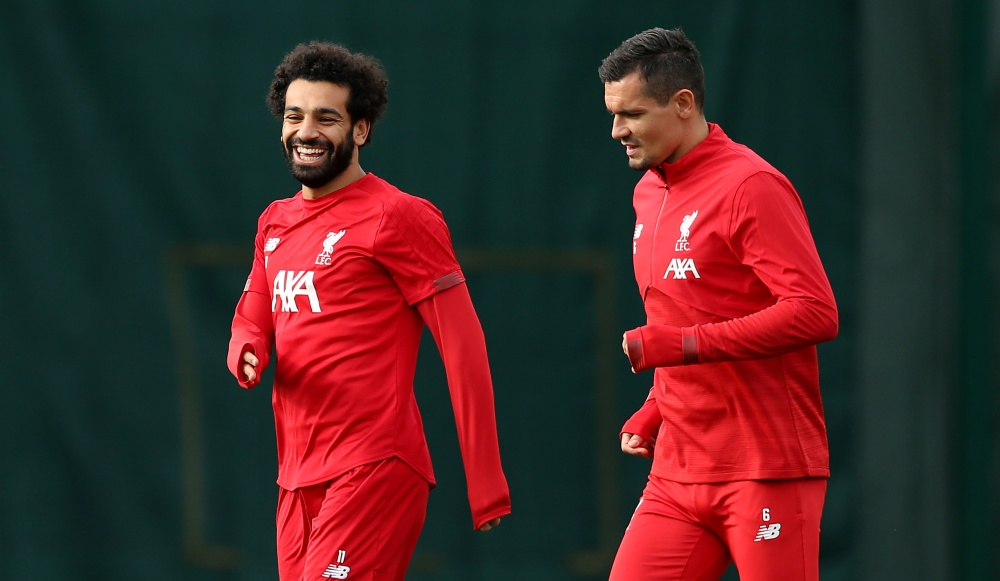 Dejan Lovren Hilariously Trolls His Liverpool Teammate Mohamed Salah for his Hairstyle (Watch Video)