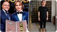 Luka Modric Wins 2019 Golden Foot Monaco Award, Real Madrid Midfielder Becomes The 17th Player to Get The Honour