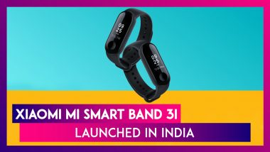 Xiaomi Mi Smart Band 3i Launched In India; Price, Features, Colours & Specifications