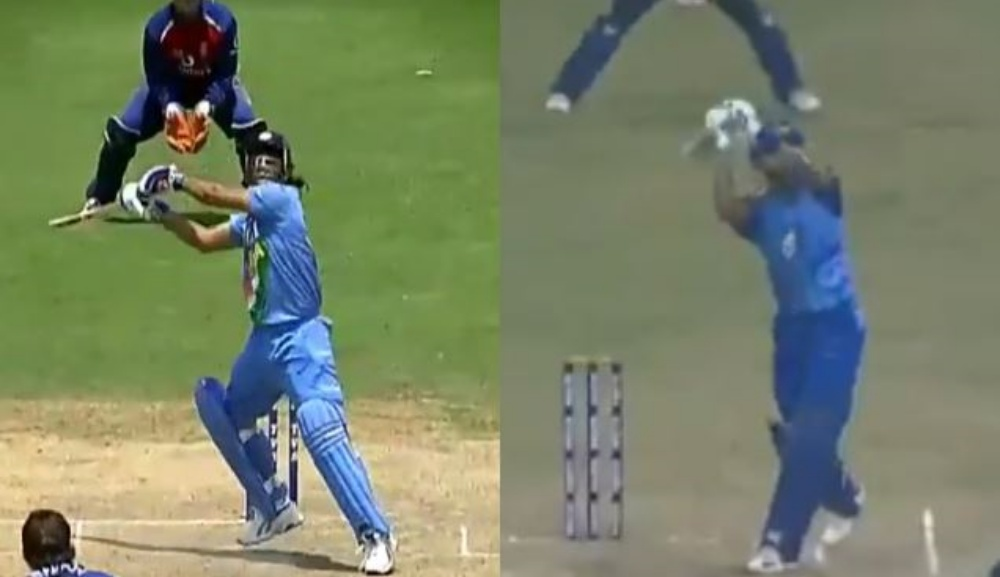 Shreyas Iyer Pulls off an MS Dhoni by Playing a Helicopter Shot During Mumbai vs Punjab, Syed Mushtaq Ali Trophy 2019-20 (Watch Video)