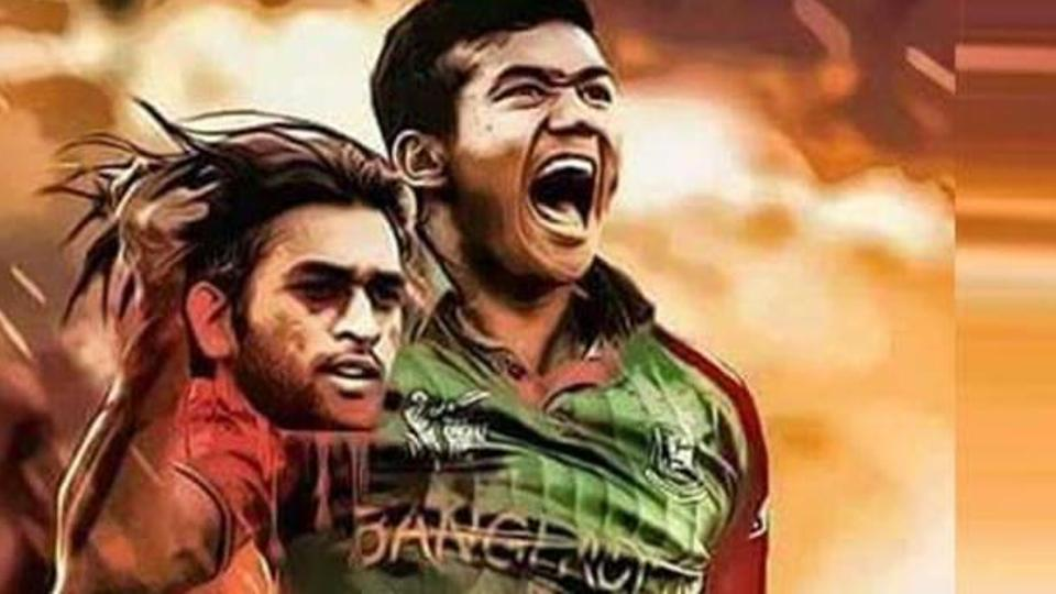 From MS Dhoni Colliding With Mustafizur Rahman to Nagin Dance Celebration Getting Mocked by Sunil Gavaskar, Check out 4 Controversies between India & Bangladesh (Watch Videos)