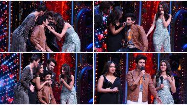 Nach Baliye 9 Finale: Kartik Aaryan's 'Patni' Bhumi Pednekar and 'Woh' Ananya Panday Shave Off His Mooch On National Television (Watch Video)