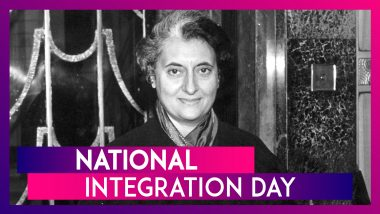 National Integration Day 2019: Quotes & Slogans to Spread Unity on Indira Gandhi's Birth Anniversary