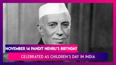 Why is Pandit Nehru's Birthday Celebrated As Children's Day? Excerpts From His Letter To Children