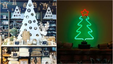 Christmas 2019 Decoration Ideas: 5 Alternatives for Xmas Tree That Will Dazzle up Your Home This Holiday Season