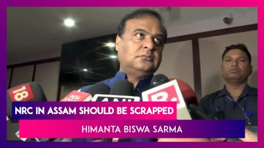 'NRC In Assam Should Be Scrapped': Himanta Biswa Sarma After Amit Shah's Plan
