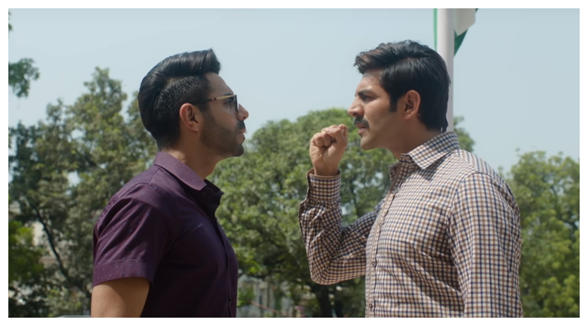 Kartik Aaryan's Pati Patni Aur Woh Trailer Faces Flak for Making a Joke About Marital Rape (Read Tweets)