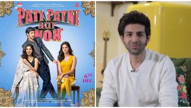 Kartik Aaryan Announces Pati, Patni Aur Woh Trailer Will Release on November 4 with a Funny Video