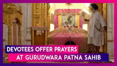 Guru Nanak Jayanti 2019: Devotees Offer Prayers At Gurudwara Patna Sahib
