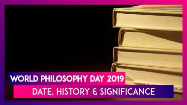 World Philosophy Day 2019: Date, History And Significance Of The Day Observed Across The Globe