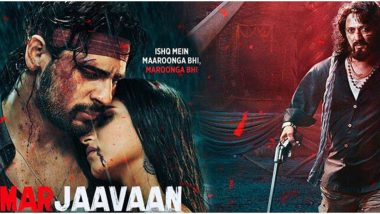 Marjaavaan Quick Movie Review: Sidharth Malhotra, Tara Sutaria and Riteish Deshmukh's Film Is a Tedious Watch