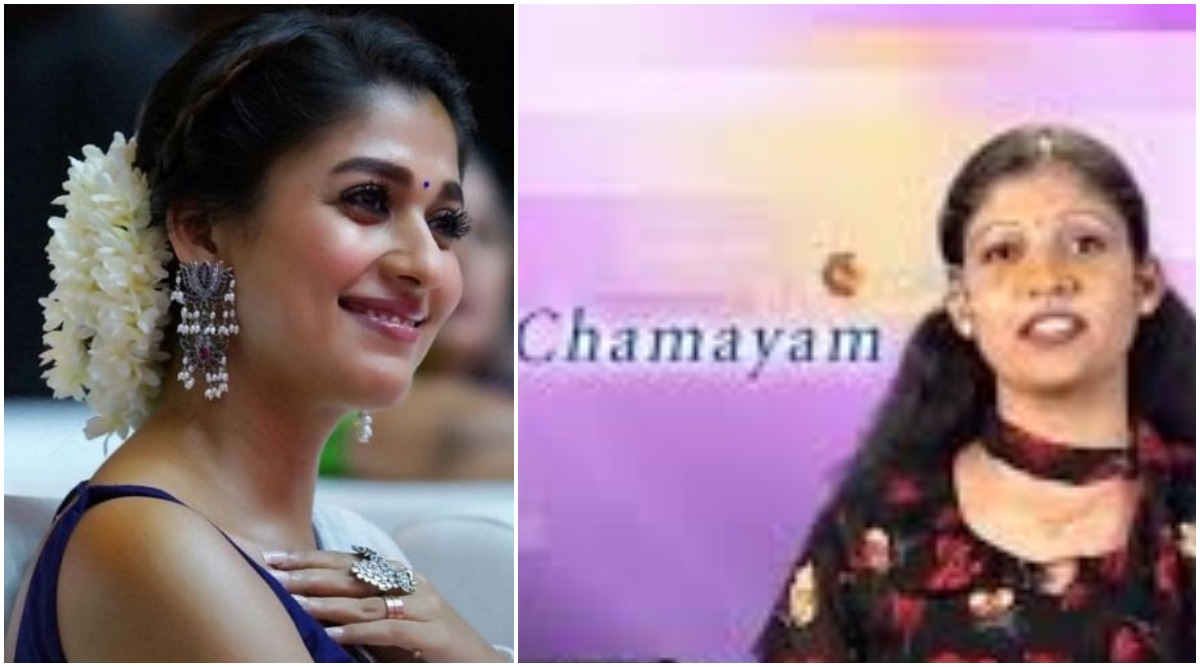 Nayanthara's Look in This Throwback Video as an Anchor of the Malayalam Show Chamayam Leave Fans Shocked