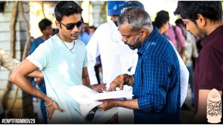 Enai Noki Paayum Thota: These BTS Stills of Dhanush from the Sets of ENPT Are A Must See (View Pics)