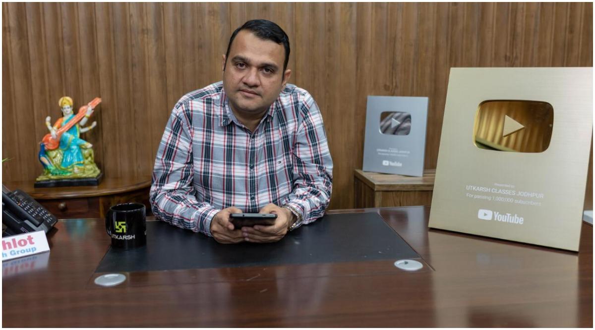 Nirmal Gehlot's Utkarsh Classes in Jodhpur Brings Innovation and Is Changing the Scenario of Online Education