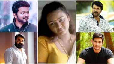 Shakeela Birthday Special: 7 Times When the Former Softcore Actress Worked With Mammootty, Mohanlal, Thalapathy Vijay, Chiyaan Vikram, Mahesh Babu (Watch Videos)
