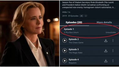 Amazon Prime Quietly Takes Down Controversial Episode of Madame Secretary That Discusses Hindu Extremism – Read Deets