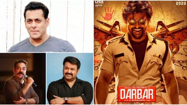 Darbar: Salman Khan, Kamal Haasan and Mohanlal to Unveil the Motion Poster of Rajinikanth's Next on November 7