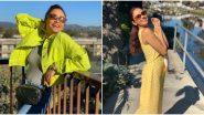 Amruta Khanvilkar Enjoys Vacation With Her Family In Los Angeles