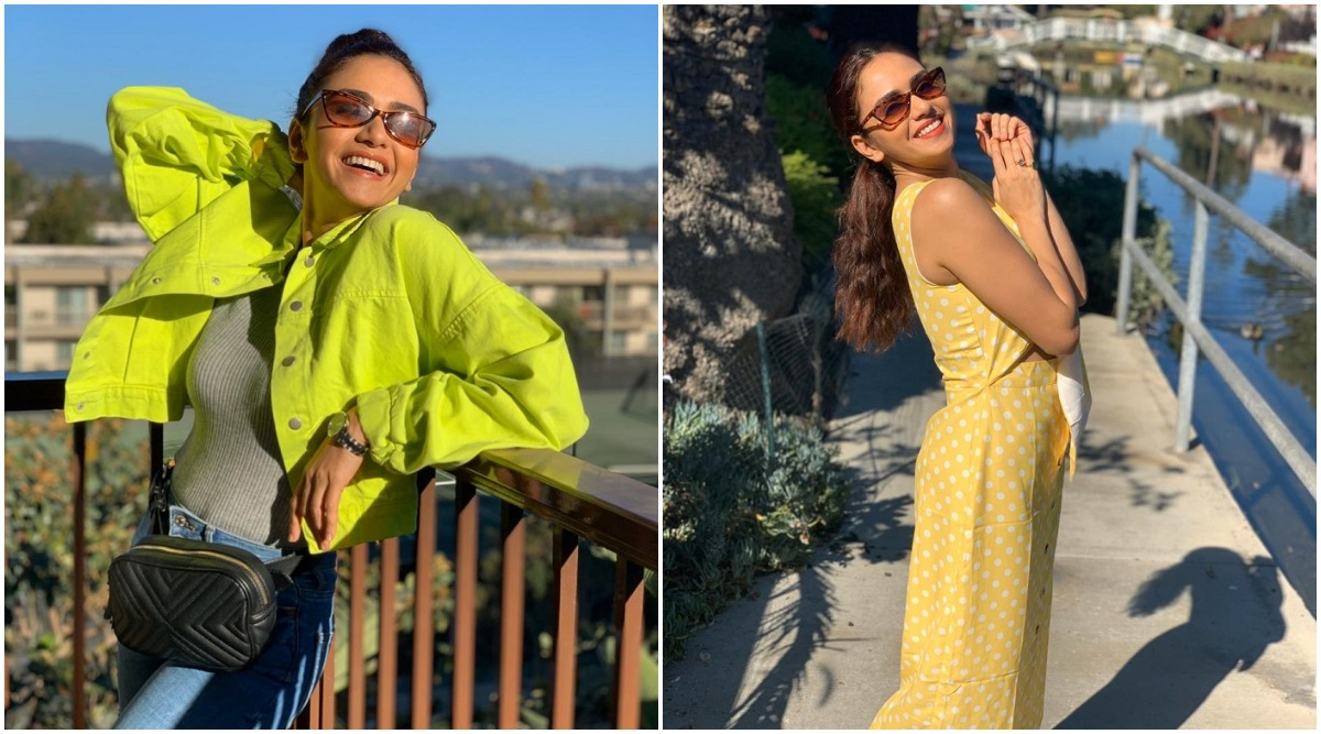 Amruta Khanvilkar Enjoys Vacation With Her Family In Los Angeles