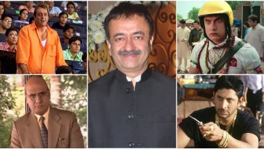 Rajkumar Hirani Birthday Special: 8 Most Memorable Characters That the Sanju Director Gave to Cinema