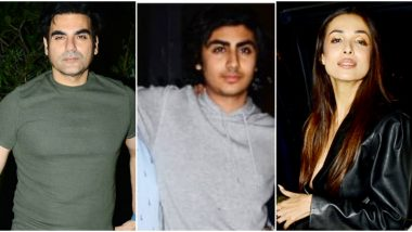 Arbaaz Khan, Malaika Arora and Family Members Come Together to Celebrate Arhaan Khan's 17th Birthday (View Pics)