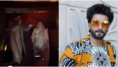 'Gully Boy' Ranveer Singh Raps Apna Time Aayega at a Friend's Pre-Wedding Party in Bengaluru, and Guests Can't Keep Calm (Watch Video)