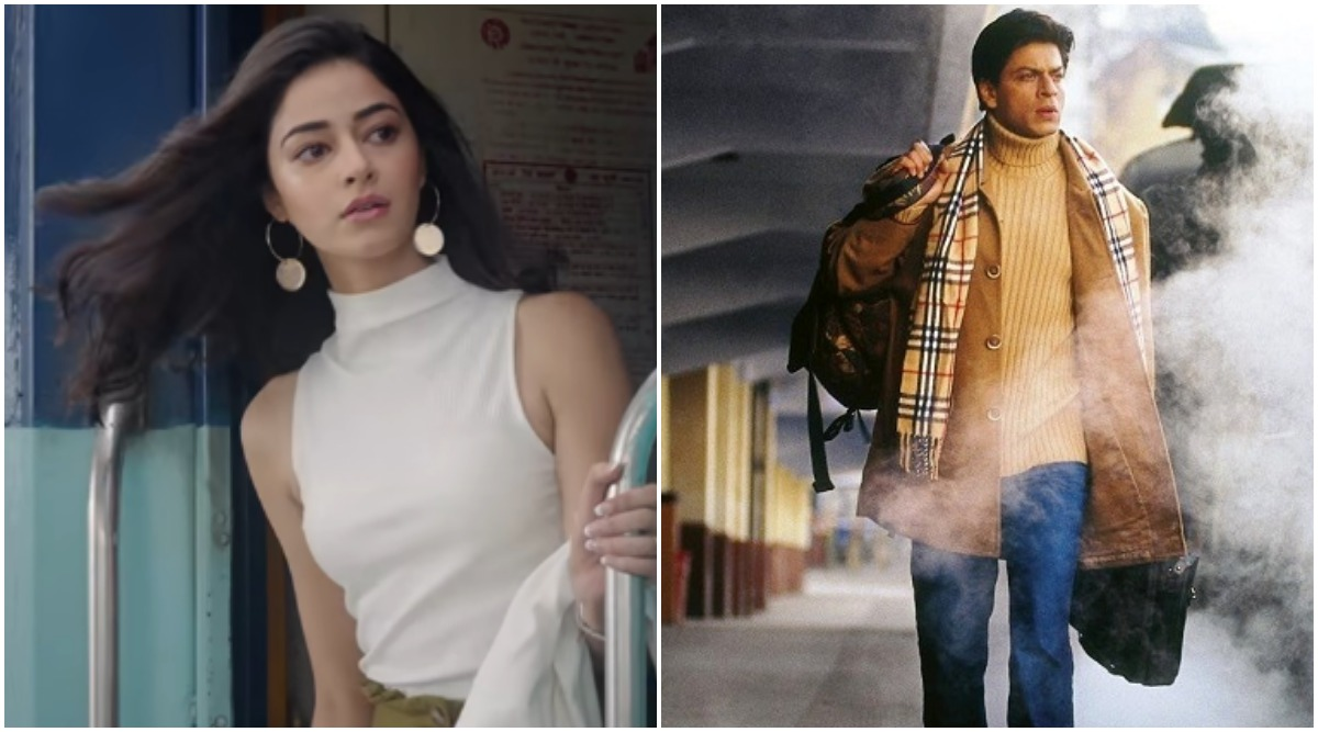 Did You Know Pati Patni Aur Woh Actress Ananya Panday Was Asked to Refer to Shah Rukh Khan's Shot from Main Hoon Na?