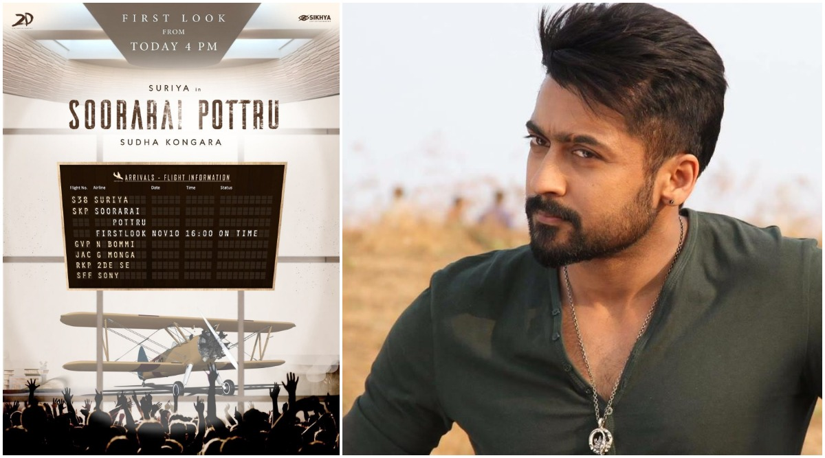 Soorarai Pottru: Suriya's Fans Super-Excited to See the First Look of His Upcoming Film