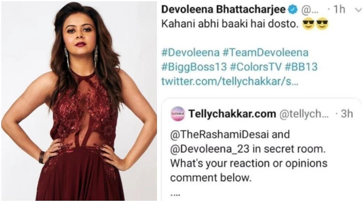 Bigg Boss 13: Is Devoleena Bhattacharjee in Secret Room? Her Tweet Post-Eviction Hints So!