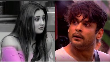 Bigg Boss 13 Day 39 Highlights: Rashami Desai Calls Sidharth Shukla 'Neech' and 'Ghatiya'; the Latter Hits Back