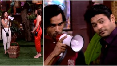 Bigg Boss 13 Weekend Ka Vaar Promo: Arhaan Khan Calls Sidharth Shukla 'Dog'; Devoleena Bhattacharjee Asks Shefali Jariwala to Be an Unbiased Captain (Watch Video)