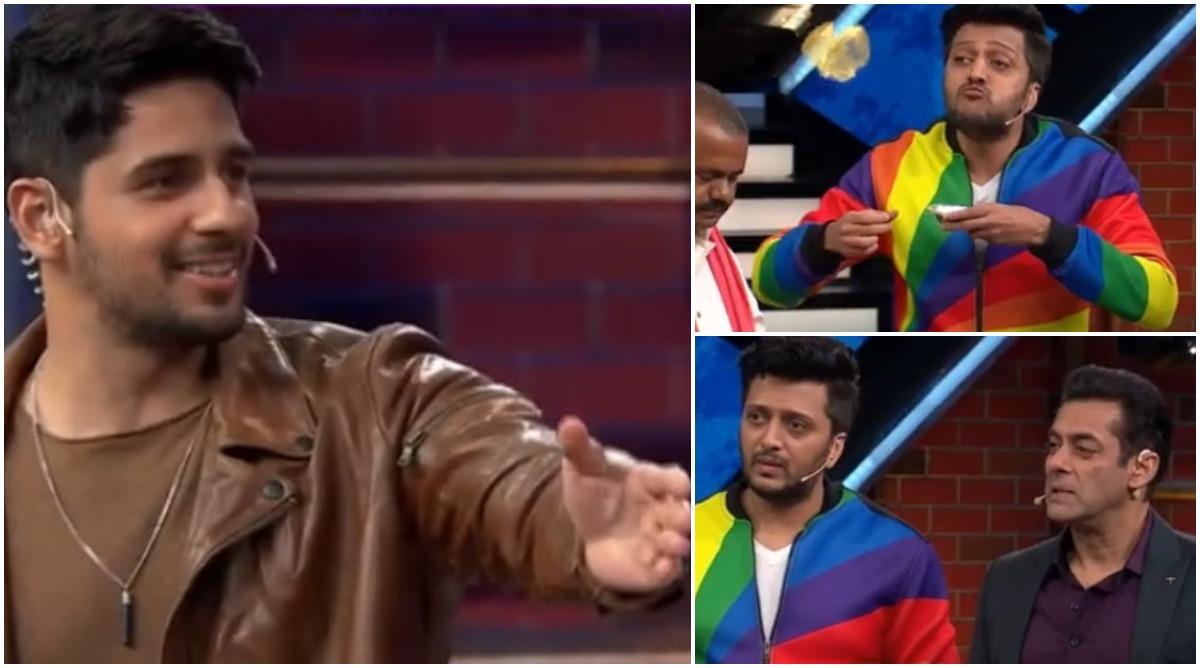 Bigg Boss 13 Promo: Sidharth Malhotra and Riteish Deshmukh Join Salman Khan on Weekend Ka Vaar (Watch Video)