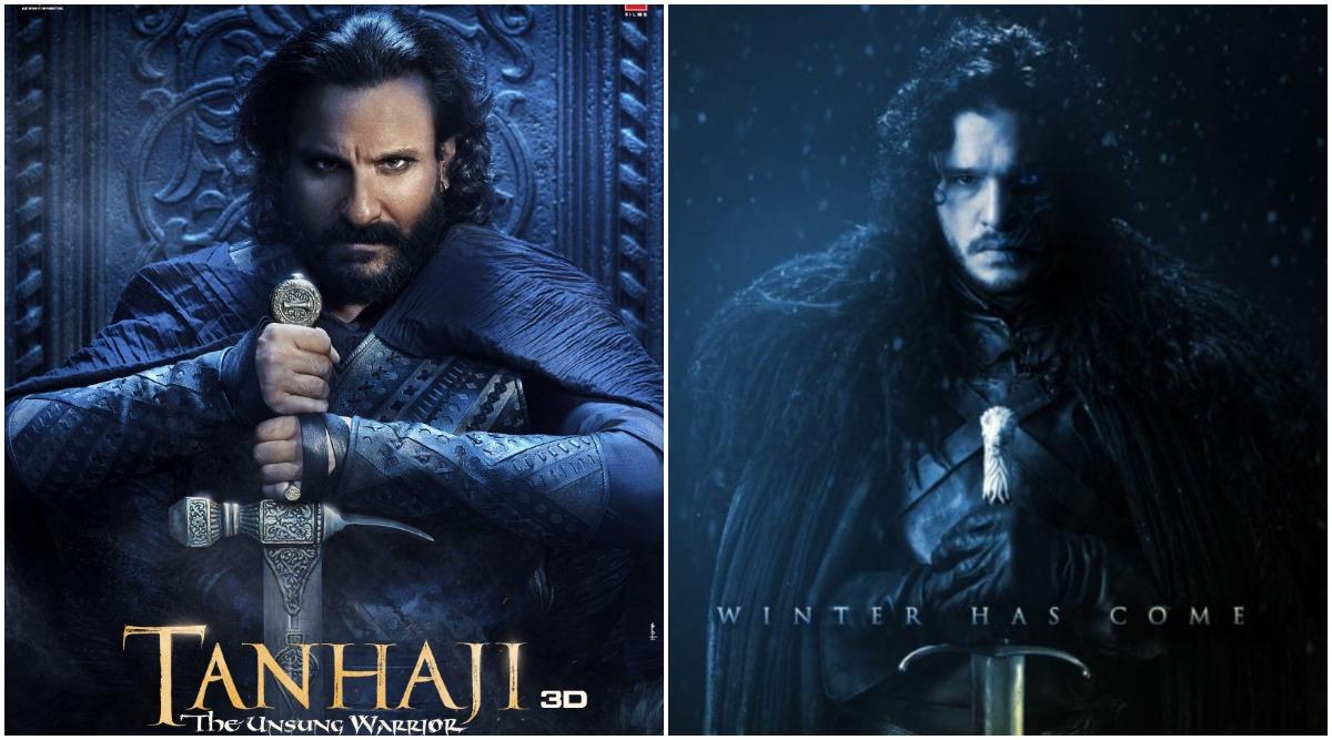 Tanhaji: GoT Fans! Does Saif Ali Khan's Menacing Look as Udaybhan Give You a Major Jon Snow Hangover?