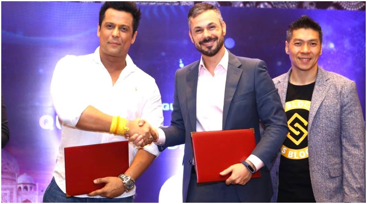 International E Wallet S Block Quantum Leap and Running Horses Films Announce Their Bollywood Collaboration