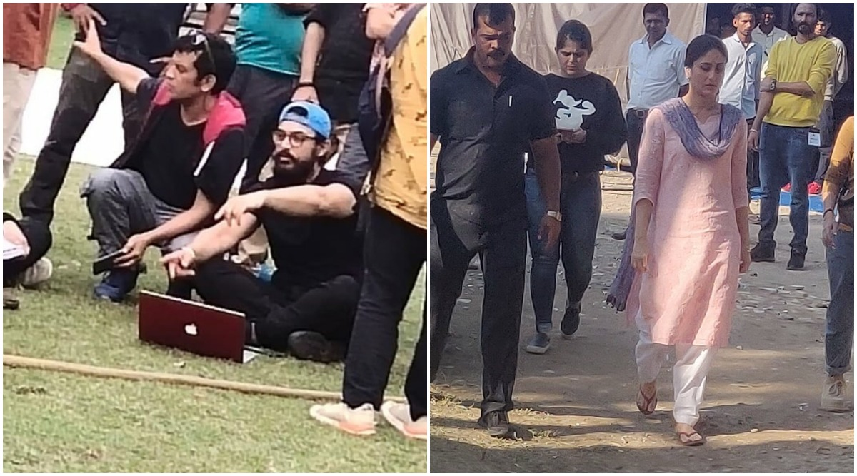 Laal Singh Chaddha: Aamir Khan and Kareena Kapoor Khan Start Shooting in Chandigarh and Their Pics Get Leaked Online