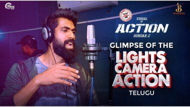 Lights Camera Action Promo Video Song: Rana Daggubati Turns Into a Rapper for Vishal and Tamannaah Bhatia Starrer!