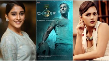 Chakra First Look: Vishal's Next Looks like An Action-Packed Flick, Regina Cassandra and Shraddha Srinath Are the Leading Actresses