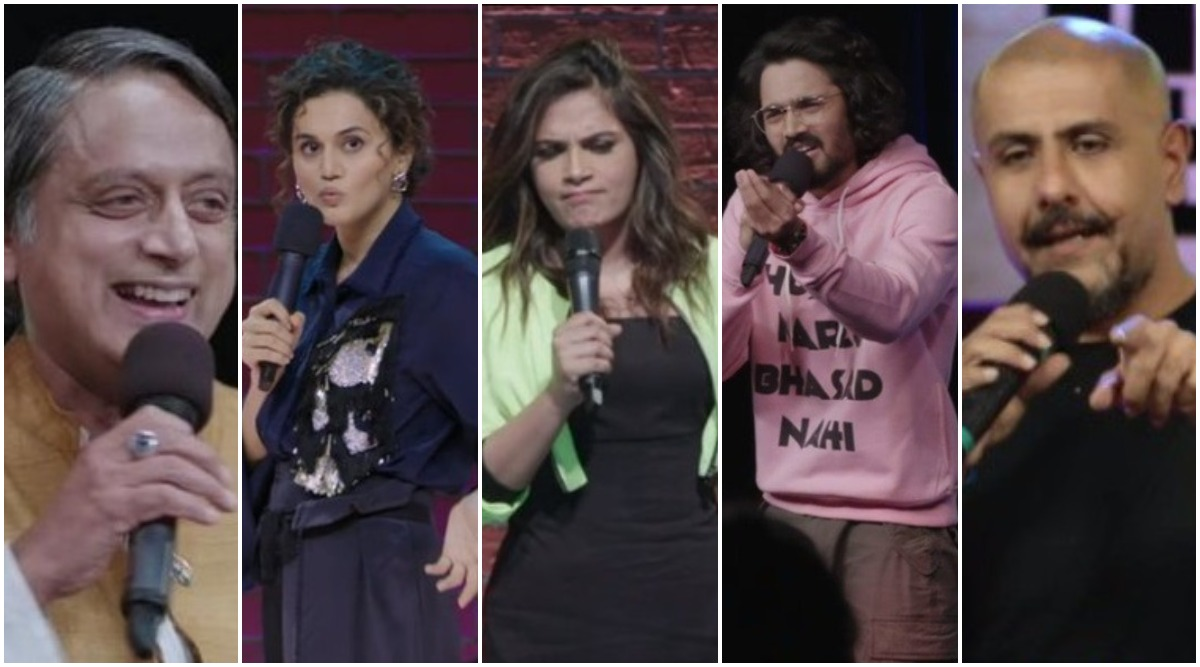 One Mic Stand Review: From Taapsee Pannu to Shashi Tharoor, Ranking All the Celeb Standup Acts in the Amazon Prime Series From Worst to Best