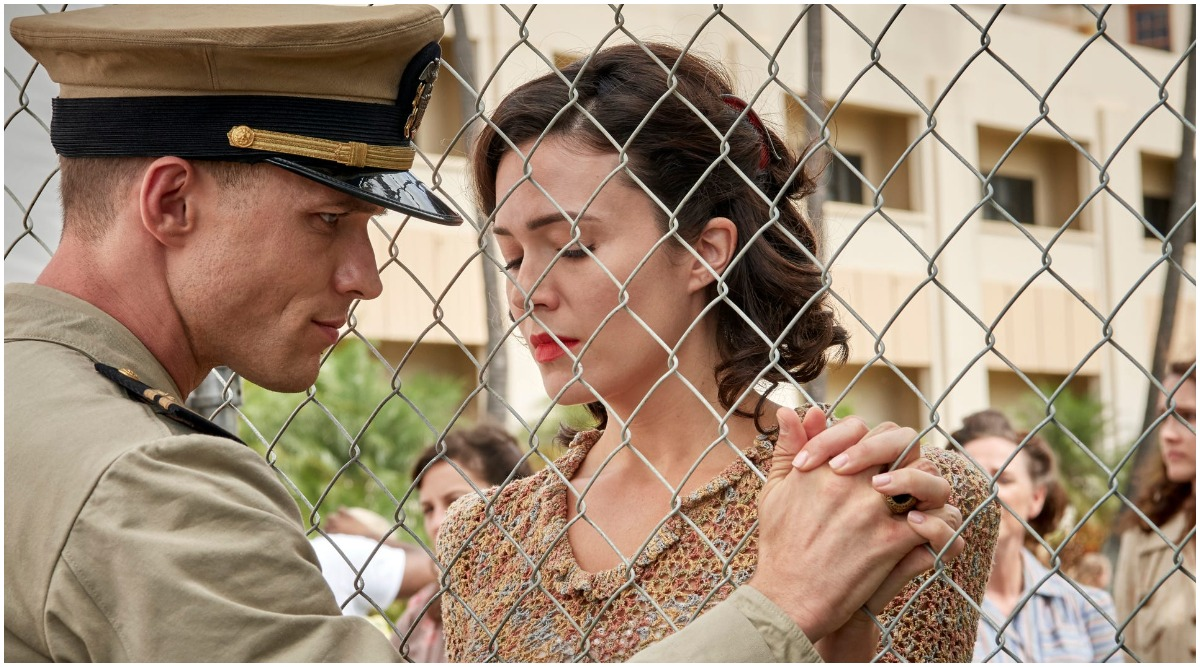 Ed Skrein on His Onscreen Wife in Midway: 'Mandy Moore Is a Force of Nature'