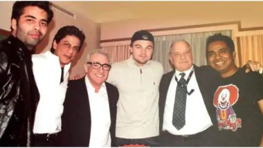 When Shah Rukh Khan, Leonardo DiCaprio and Martin Scorsese Were Rumoured to Do a Hollywood Movie Together and This Pic Started The Gossip!