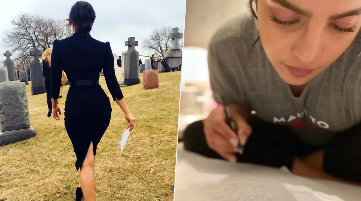 Priyanka Chopra Never Misses Her Homework and This Prep Pic For Netflix's 'The White Tiger' is Proof!