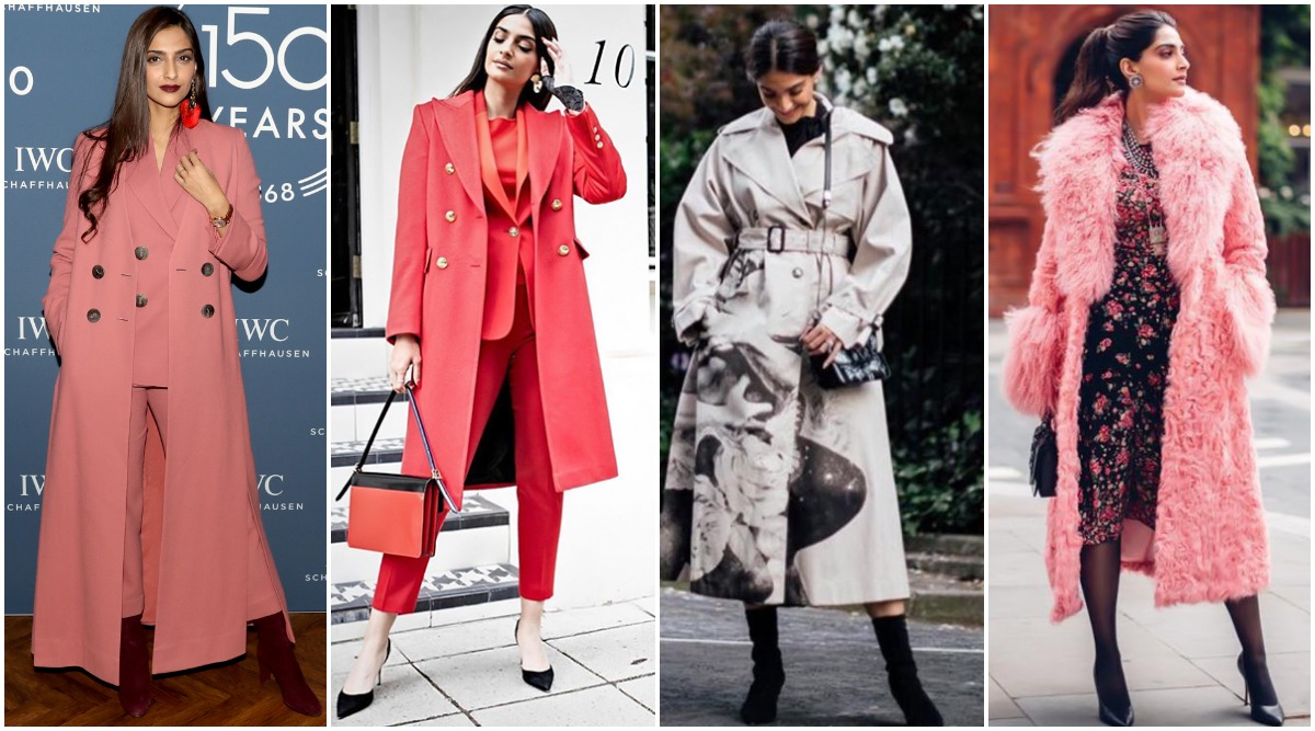 Sonam Kapoor Ahuja's Winter Wardrobe is So Chic that We Don't Mind Stealing it (View Pics)