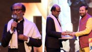 Rajinikanth Conferred With 'Icon of Golden Jubilee' Award at IFFI 2019, Thalaivar Fans Trend 'Pride Of India Rajinikanth' on Twitter
