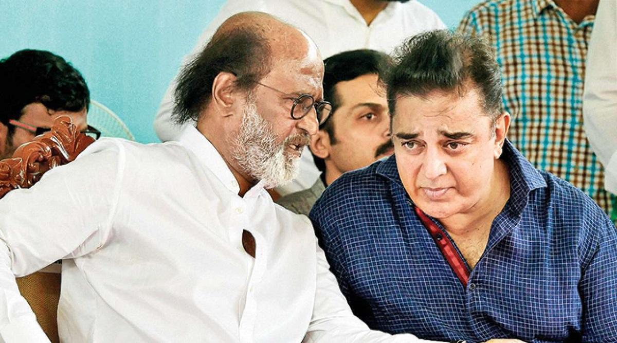 After Flop Start, Kamal Haasan and Rajinikanth Hint at Joining Hands to Kickstart Political Career