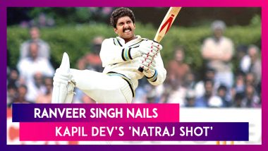 83': Ranveer Singh Nails Kapil Dev's Iconic 'Natraj Shot', Fans Can't Keep Calm