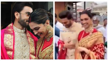 Deepika Padukone Asks Husband Ranveer Singh to Not Steal Her Fans in This Hilarious Video