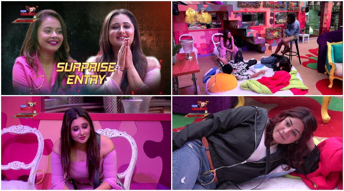 Bigg Boss 13: Rashami Desai Warns Shehnaaz Gill, Says 'Tu Flip Hui Toh Dekh' (Watch Video)