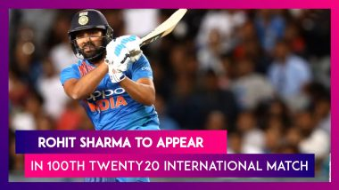 Rohit Sharma Set to Become First Indian to Play 100 T20Is, To Achieve the Feat in 2nd India vs Bangladesh T20I